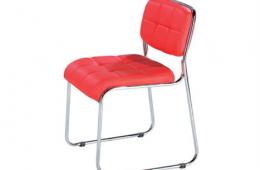 ניר ריפוד עבה – כסא אורח מרופד אדום